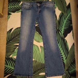 Buffalo Stripes X Bootcut Jeans